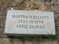 Martha Elizabeth <I>Hall</I> Elliott