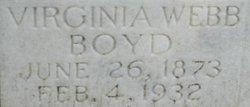 Virginia Valerie <I>Webb</I> Boyd