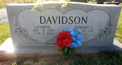 Ora LaVerne <I>Moran</I> Davidson