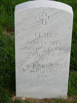 Elsie Fetzer
