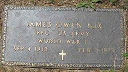 James Owen Nix
