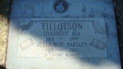 Della May <I>Parsley</I> Tillotson