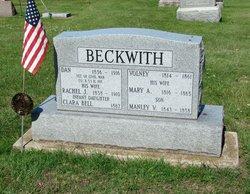 Rachel Josephine <I>Ford</I> Beckwith