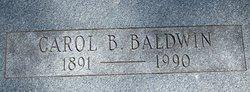 Carol B <I>Brooks</I> Baldwin