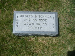 "Mildred ""Millie"" <I>Pochter</I> Mitchnick"