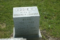 Addie M <I>Haley</I> Johnson