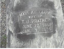 Mary Arleatha <I>Weaver</I> Prather