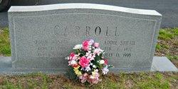 Addie Sarah <I>Jones</I> Carroll