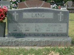 John D Lang