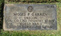 Moses P Garren