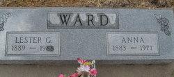 Anna Rhoda <I>Greenway</I> Ward