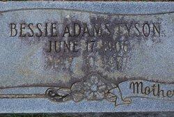 Bessie <I>Adams</I> Tyson