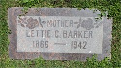 "Delina Isolette ""Lettie"" <I>Curtis</I> Barker"