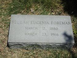 Beulah Eugenia Foreman