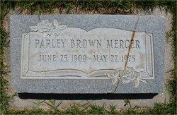 Parley Brown Mercer