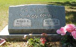 Maureen Elaine <I>Monzo</I> Gruninger