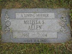 Melissa <I>Shuler</I> Allen