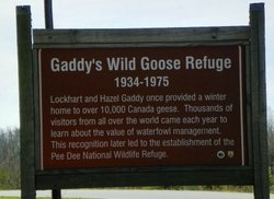 Gaddy's Wild Goose Refuge