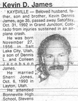 Kevin Dennis James