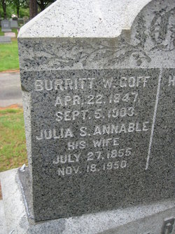 Burritt Welcome Goff