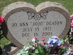 """Jo Ann """"JoJo"""" Deaton (1977-2008) - Find A Grave Memorial"""