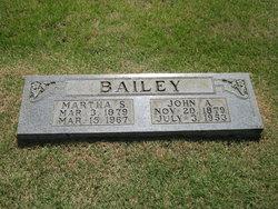 Martha Sue <I>Barnes</I> Bailey