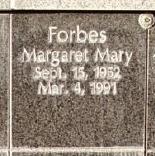 "Margaret Mary ""Maggie"" <I>Cramer</I> Forbes"