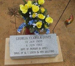Georgia Clarola <I>Smith</I> Jones