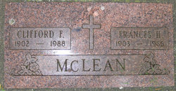 Clifford Francis McLean