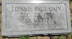 Lonnie Paul Cain