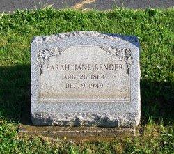 Sarah Jane Bender
