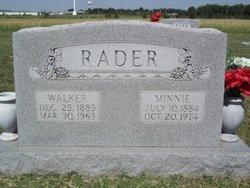 Minnie Ethel <I>Mackie</I> Rader