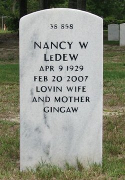Nancy <I>Waldron</I> LeDew