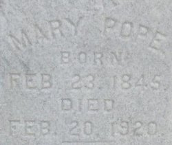 Mary Pope