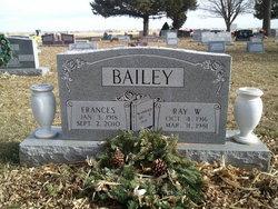 Frances <I>Cunningham</I> Bailey