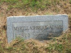 Myrtle <I>Ashbrook</I> Adams