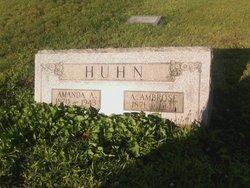 Amanda Ann <I>Burris</I> Huhn