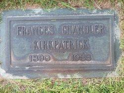 "Franciska ""Frances/Fran"" <I>Chandler</I> Kirkpatrick"