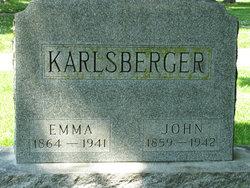Emma M <I>Danner</I> Karlsberger