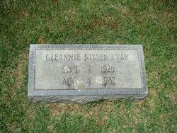 Gleannie <I>Nissen</I> Cvar