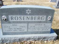 Jennie <I>Mitchnick</I> Rosenberg