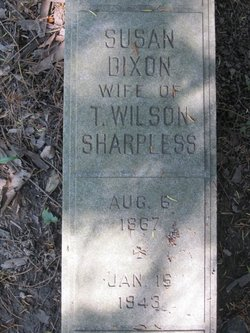 Susan <I>Dixon</I> Sharpless