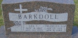 Frances A <I>Martin</I> Barkdoll