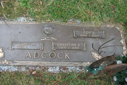 Christine A. Adcock