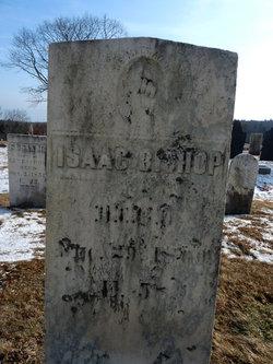 Capt Isaac J Bishop