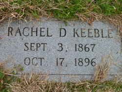 Rachel D. <I>Donaldson</I> Keeble