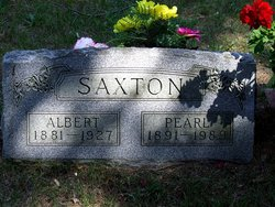 Anna Pearl <I>Fidler</I> Saxton