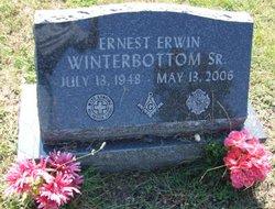 """Ernest Erwin """"Ernie, Big Ern"""" Winterbottom, Sr"""