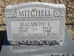 Elizabeth L <I>Fisher Tuggle</I> Mitchell