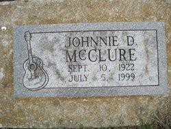 Johnnie D McClure